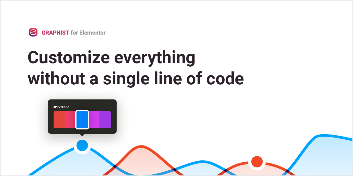 Customize everything without single line of code