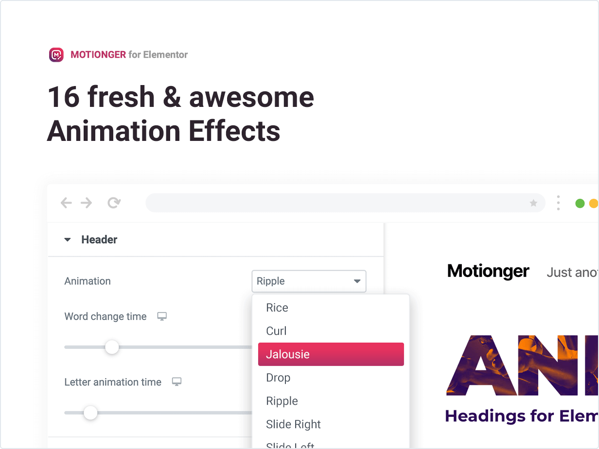 16 fresh & awesome animation effects